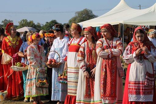 Russia, Girls, Russians, Costumes, Folk, Folklore
