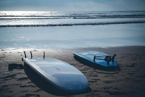 Surfboards, Surfing, Beach, Sea, Water, Ocean, Sport