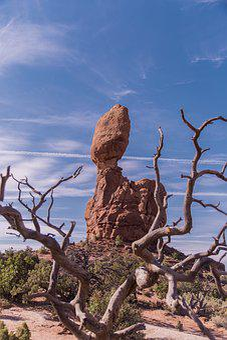 Rock, Balance, Nature, Stone, National, Park, Natural