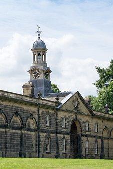 Clock, Tower, Monastery, Weathercock