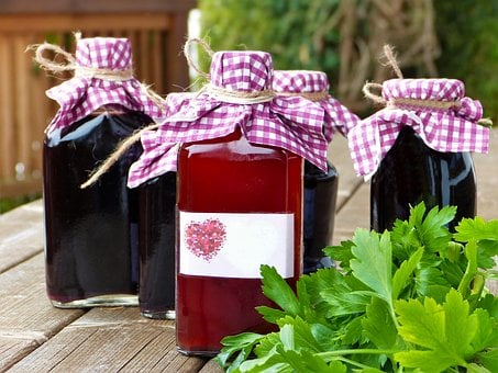 Glass Bottles, Vial, Syrup, Wine, Juice, Smoothies