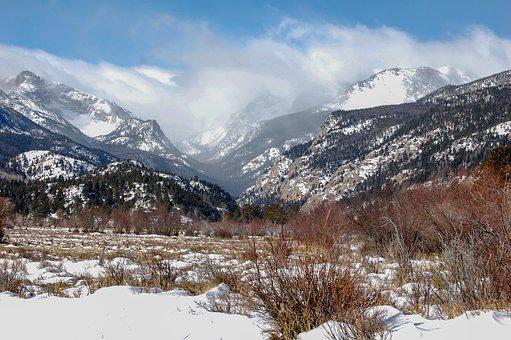 Winter, Snow, Mountains, Cold, Landscape, Wintry