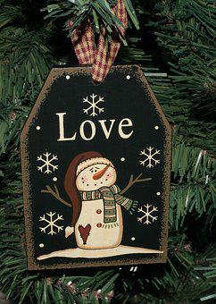 Christmas, Decoration, Snowman, Holiday, Xmas