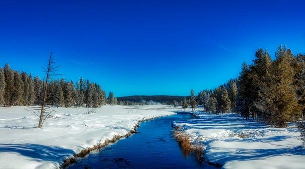 Yellowstone, National Park, Wyoming, America, Tourism