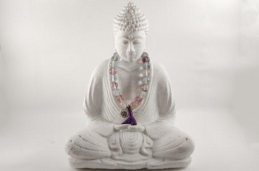 Buddha, Zen, Meditation, High-key, Relaxation