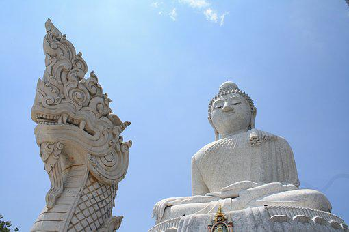 Big Buddha, Phuket, Buddha, Thailand, Buddhism