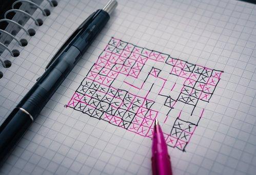 Cheese Box, Play, Boredom, Lines, Pen, Paper, Crosses
