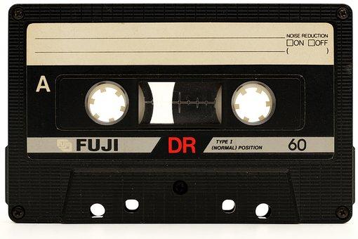 Cassette, Tape, Magnetband, Analog, Hifi, Audio, Tinge