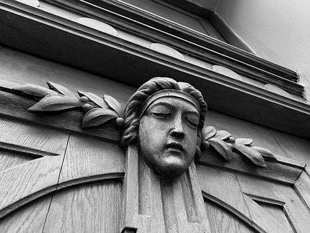 Head, Statue, Sculpture, Art, Face, Fantasy, Character