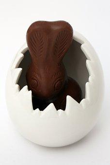 Easter, Easter Bunny, Egg, Easter Egg, Chocolate