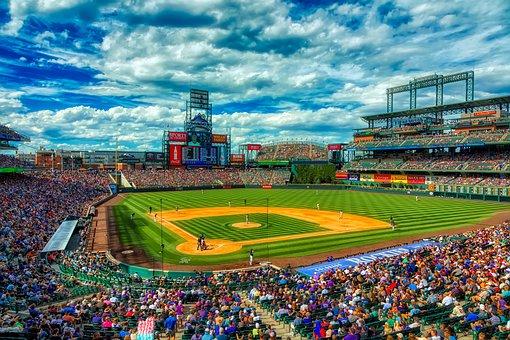 Coors Field, Baseball Stadium, Colorado Rockies, Sports