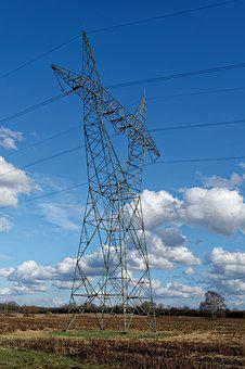 Strommast, Current, Pylon, Electricity, Power Line