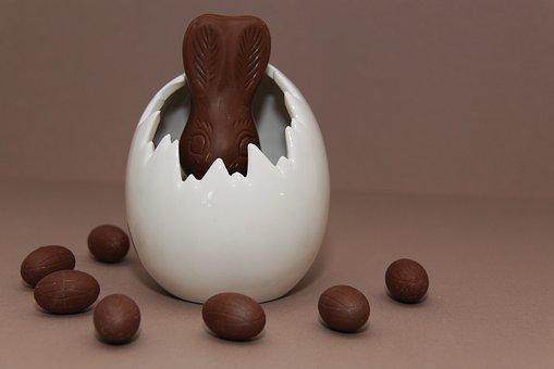 Easter, Easter Bunny, Easter Egg, Hare, Egg, Chocolate