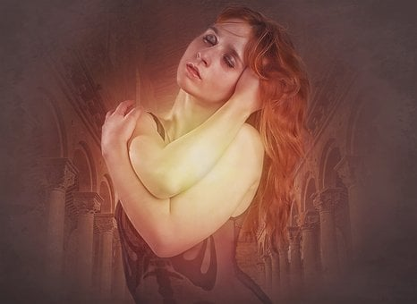 Gothic, Fantasy, Dark, Soul Fire, Female, Woman, Beauty