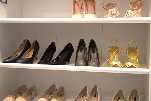 Shoe, High Heels, Pumps, Paragraph, Fashionable, Female