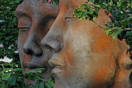 Sculpture, Garden, Garden Sculpture, Statue, Park, Art