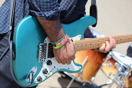 Guitar, Music, Guitarist, Man, Musician, Concert