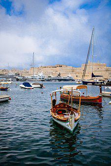 Malta, Marina, Boat, Harbor, Mediterranean, Yacht