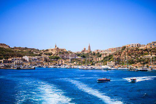 Malta, Marina, Boat, Harbor, Mediterranean, Tourism