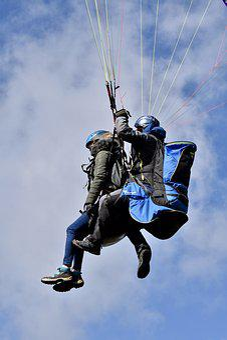 Paragliding, Paraglider, Paraglider Tandem