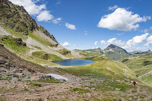 Silvretta, Bieltal, Radsee, Bielerhöhe, Vorarlberg