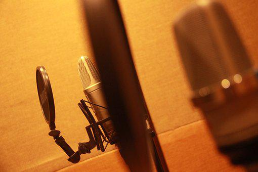 Recording, Sound Proofed, Record, Recording Booth