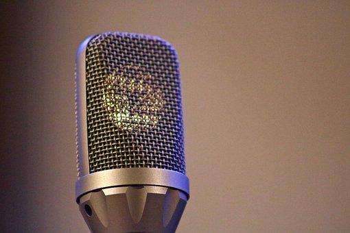 Microphone, Recording, Audio, Music, Studio