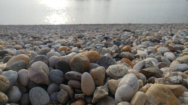 Stone, Rock, Calculus, Jarun, Beach, Rocks, Stones