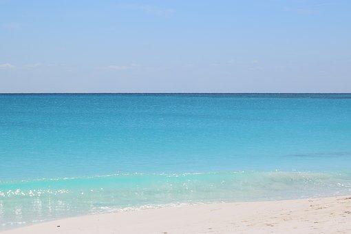 Beach, Cayo Largo, Sea, Cuba, Blue, Turquoise