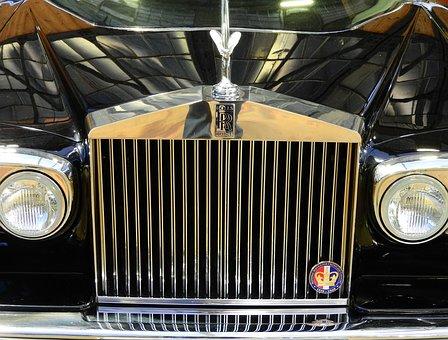 Rolls Royce, Emily, Cool Figure, Silver, Oldtimer