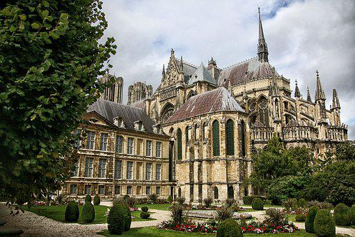 Reims, Cathedral, Gothic, Religion, Statues