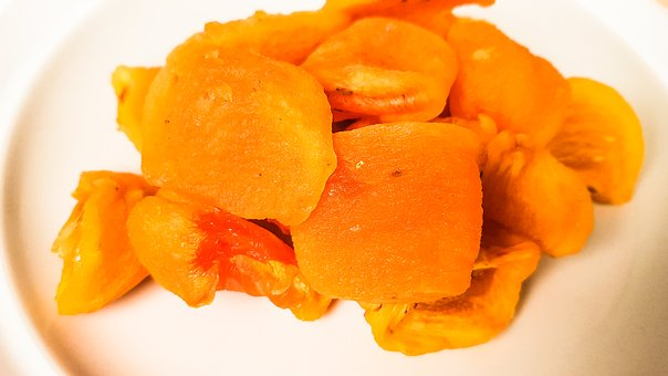 Dried Persimmon, Persimmon, Korea, Traditional, Fruit