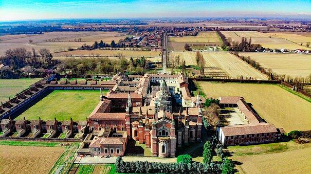 Certosa Di Pavia, Pavia, Viale