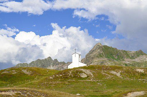 Silvretta, Bielerhöhe, Barbara Chapel, Vorarlberg