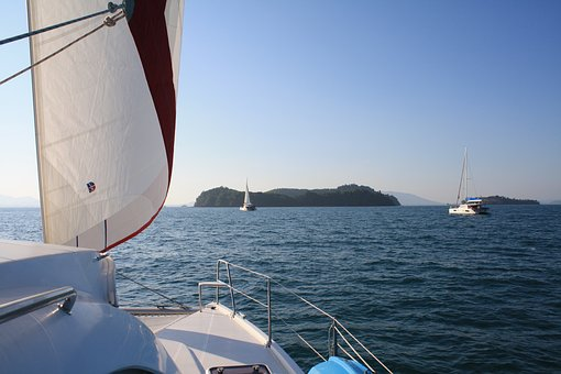 Yacht, Catamaran, Sail, Sailing Boat, Boat, Water, Sea