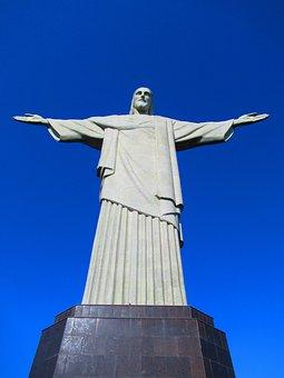 Rio De Janeiro, Christ The Redeemer, Brazil, Jesus