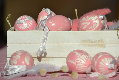 Easter Eggs, Painted, Easter, Decoration, Egg
