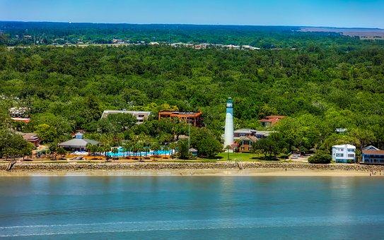 St, Simons Island, Georgia, America, Tourism