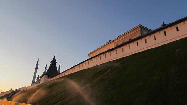 Kazan, Russia, Summer, Tatarstan, Architecture, City