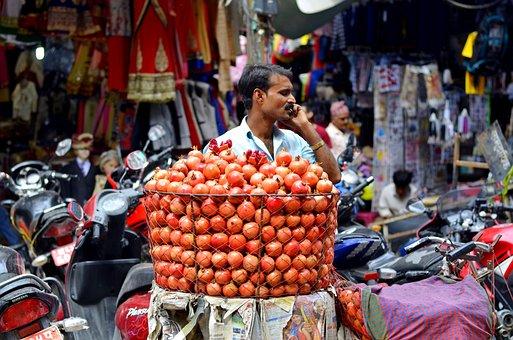 Man, Vendor, People, Shop, Market, Sell, Food