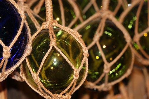 Maritime, Glaskugeln, Maritime Decoration