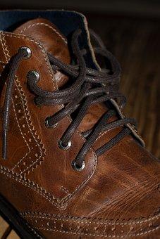 Shoe, Brown, Leather, Leather Shoe, Men's Shoe, Fashion