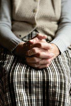 Hands, Human, Old Human, Age, Seniors, Fold, Skin