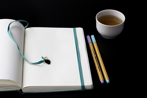 Notebook, Pen, Paper, Write, Page, Diary, Tea, Planner