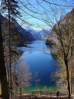 Königssee, Lake, Berchtesgaden, Schönau Am Königssee