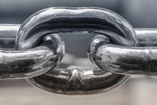 Chain, Stainless Steel, Metal, Iron, Chain Link
