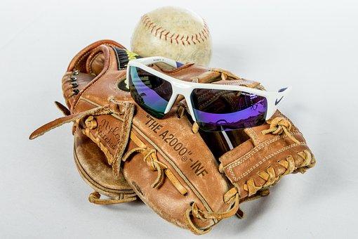 Glasses, Sunglasses, Baseball, Summer, Lifestyle