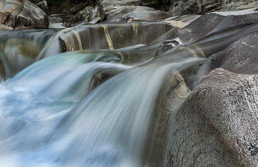 Ticino, Verzasca, River, Rock, Switzerland, Nature
