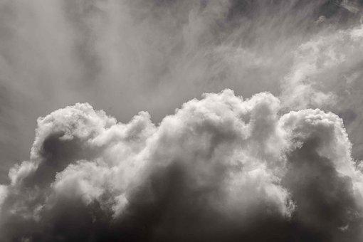 Clouds, Grey, Dark, Light, Weather, Background
