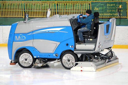 Rolba, Hockey, Ice, Stadium, Treatment, Sports, Winter
